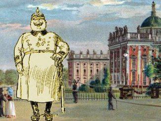 Soldat vor dem Neuen Palast, Potsdam