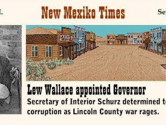 Carl Schurz zur Zeit des Lincoln-County-Kriegs
