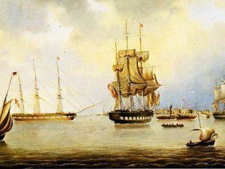 Bremerhaven Reede 1848