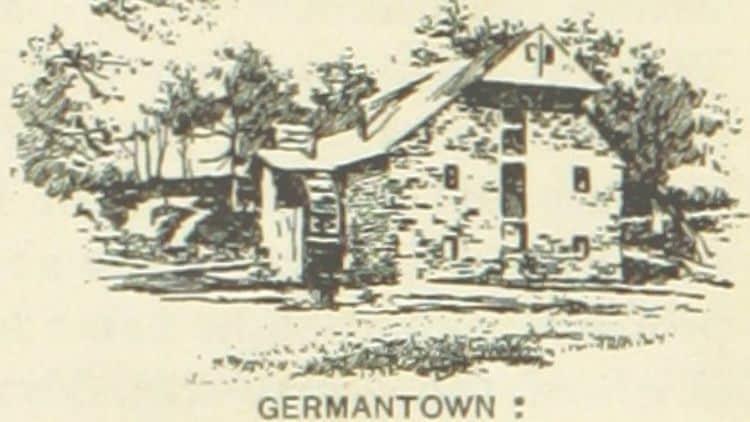 Alte Mühle in Germantown, Pennsylvania