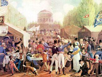 Unabhängigkeitsfeiern in Philadelphia 1819