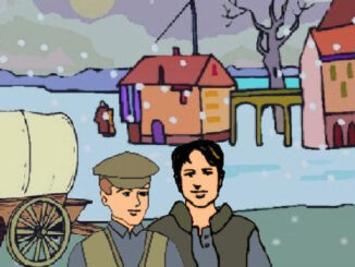 Die Bergmann Brüder in ihrem Dorf