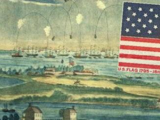 Britisch-Amerikanischer-Krieg, Fort McHenry, Baltimore