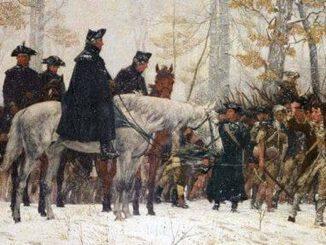 Washingtons Armee auf dem Marsch nach Valley Forge