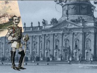 Kaiser Wilhelm I. vor dem Neuen Palais, Potsdam